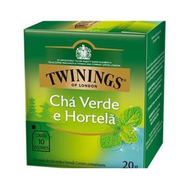 Twinings Of London Sabor Chá Verde E Hortelã 20G - 10 Sacos