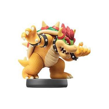 Amiibo - Bowser (Personagem Individual) - Coleção Super Smash Bros - Wii U