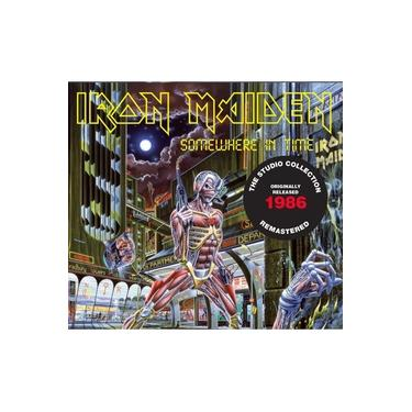 Cd Iron Maiden Somewhere In Time 1986 Remastered