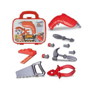 Imagem de Maleta Oficina Work Kids Kit De Ferramentas - Samba Toys