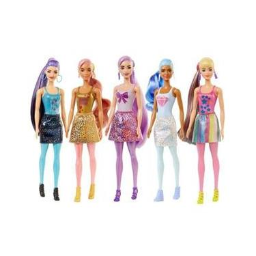 Imagem de Barbie Color Reveal Serie 5 Shimmer GWC55 Mattel