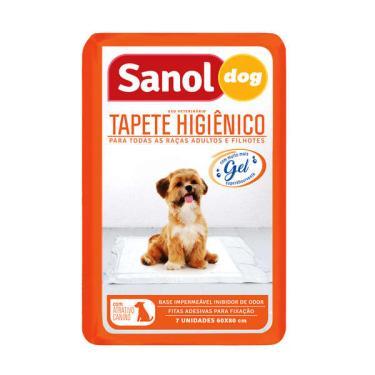 Tapete Higiênico Sanol Dog - 7 unidades