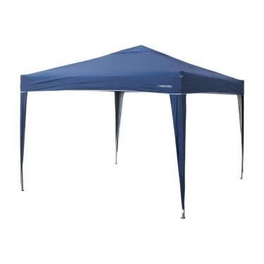 Tenda Gazebo Trixx 3m X 3m Dobrável - Nautika Azul