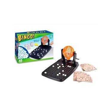 Imagem de Jogo De Bingo 48 Cartelas Com Globo 1000 - Nig Brinquedos