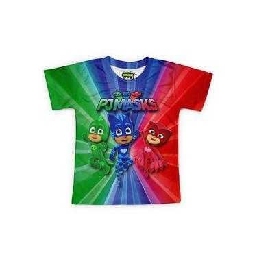 Camiseta Infantil Pj Masks Md02