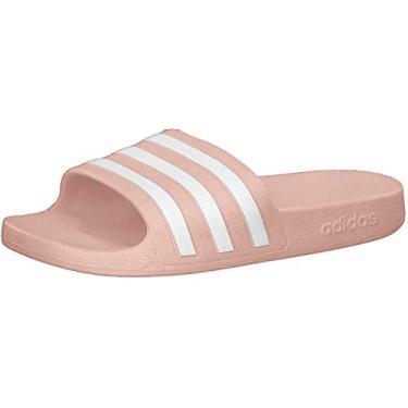 Chinelo Adidas Adilette Rosa Feminino 34/35