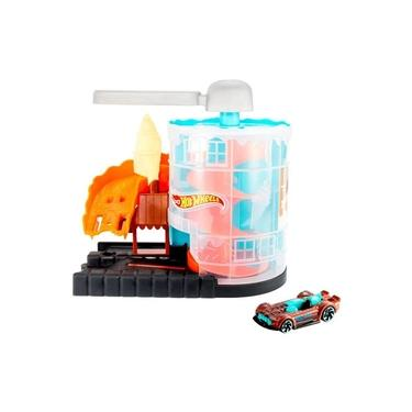 Imagem de Hot Wheels City Pista Loja De Sorvete - Mattel
