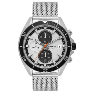 4134ac8ca55 Relógio Masculino Orient Analógico MBSSC178 S1SX - Prata