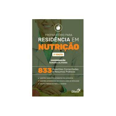 """Preparatório Para Residência Em Nutrição - """"oliveira, Tainara"""" - 9788554620066"""