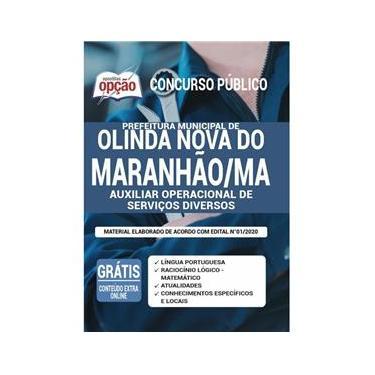 Imagem de Apostila Olinda Nova Do Maranhão Ma - Auxiliar Operacional