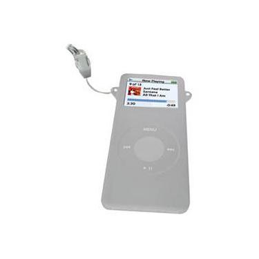 Silicone Case p/ Ipod Nano - Nano Set - Cinza -  1ª geração - Santel Tech