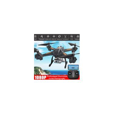 Gps follow me wifi fpv Quadcopter Drone com 1080P HD Grande Angular Câmera Altitude Hold Durável rc Drone Profissional Kid presente
