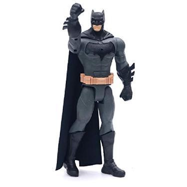 Boneco Batman Novo 30 Cm Com Som E Luz