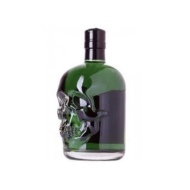 Absinto Ita Skull Verde Polini - 500 Ml
