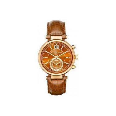 c58883fa30c52 Relógio de Pulso Michael Kors Calendário Shoptime   Joalheria ...