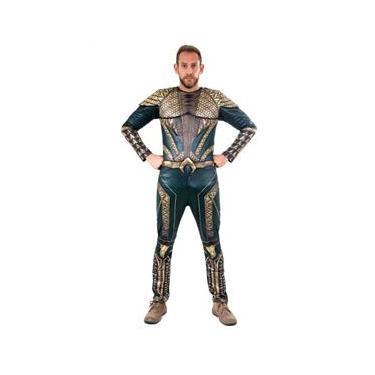Imagem de Fantasia Aquaman Adulto Luxo - Liga da Justiça