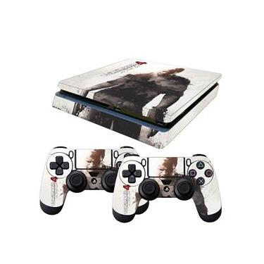 Skin PS4 Slim Uncharted 4 B
