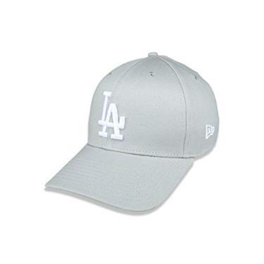 BONE 39THIRTY ABA CURVA FECHADO MLB LOS ANGELES DODGERS ABA CURVA CINZA NEW ERA
