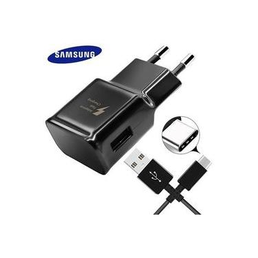 Carregador Completo Ultra Rápido Fast Charge Original Samsung Para Note 8 9 S8 S9 S10 Plus