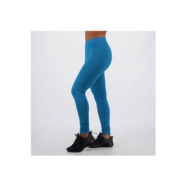 Calça Legging Olympikus Glassy Feminina Azul