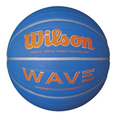 8b71b6404a Bola de Basquete Wave Phenom 7 Wilson - Azul com Laranja