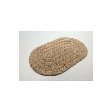 Imagem de Tapete de Banheiro Allegro Oval Linen 0,40X0,60M - Kapazi