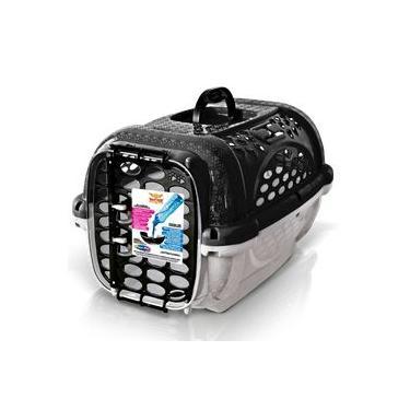 Caixa de Transporte Para Cães e Gatos Panther Nº2 - Preto