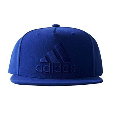 955d40ef2e434 Boné Adidas Aba Reta Flat Cap Logo