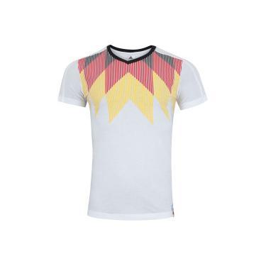 Camiseta Alemanha 2018 CI adidas - Masculina - BRANCO PRETO adidas fb8e434b11e97