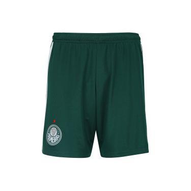 Calção do Palmeiras II 2018 adidas - Masculino - VERDE BRANCO adidas 65b3fdc20423b