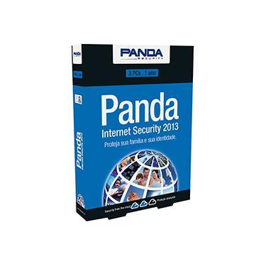 Panda Internet Security 2013 Minibox 3 Licenças