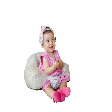 Almofada amamentação -Senta bebê Baby Holder bege Grátis protetor de pescoço  unissex