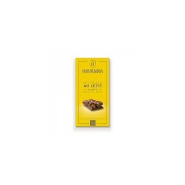 Barra de Chocolate ao Leite Havanna com Recheio de Doce de Leite 90g
