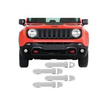 Kit Aplique De Maçaneta Cromada Jeep Renegade
