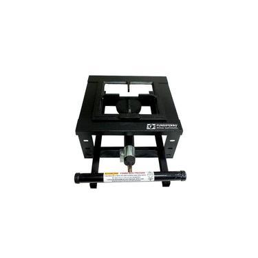 Fogão Industrial 1 Boca 20X20 Alta Pressão Modelo de Mesa Bancada