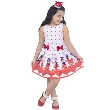Vestido Ladybug Infantil