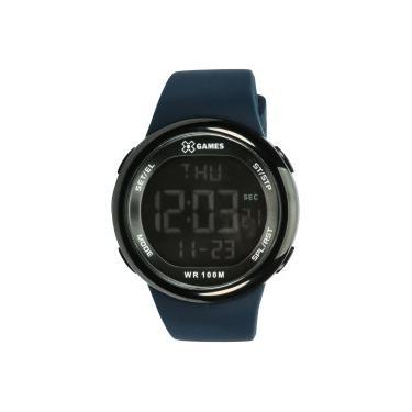 eb7460f225e Relógio Digital X Games XMPPD440 - Feminino - AZUL ESCURO X-Games
