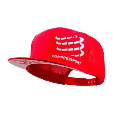 Boné Compressport - Vermelho