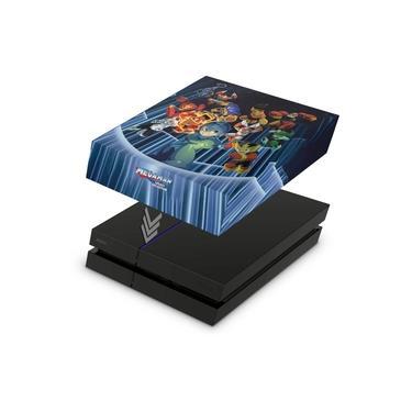 Capa Anti Poeira para PS4 Fat - Megaman Legacy Collection