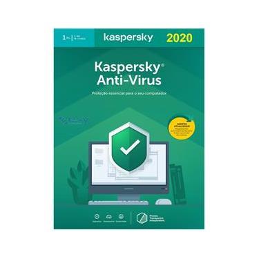 Kaspersky Antivírus 1 Dispositivo 1 ano Versão 2021