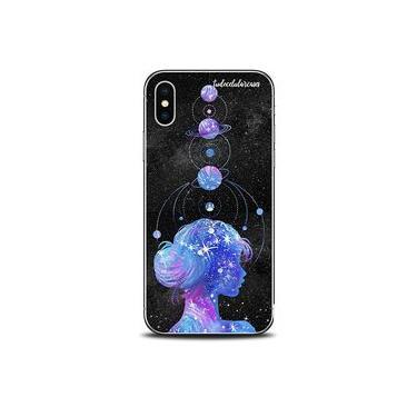 Capa Case Capinha Personalizada Planetas Poeira Estrelar iPhone 5/5S/SE - Cód. 1148-A002