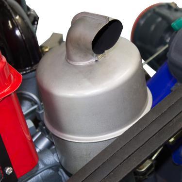 Microtrator Motocultivador Diesel - 16.5 hp - Partida Elétrica e Manual -  Refrigerado a Água com 2640dd9a4b3