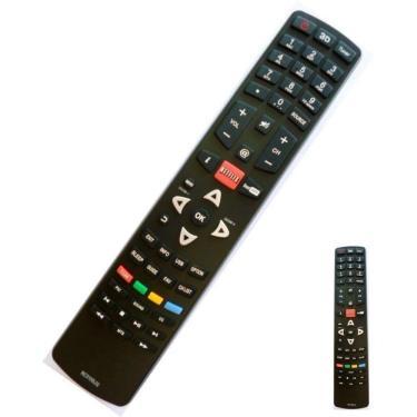 Controle Remoto Para Smart Tv Lcd Led Philco Netflix 3D RC3100L03