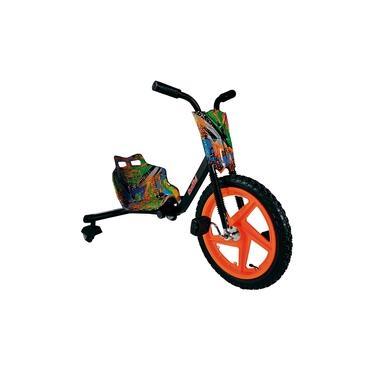 Imagem de Carrinho Infantil Gira Gira Bike Fenix Brinquedos 3 Rodas Com Luzes