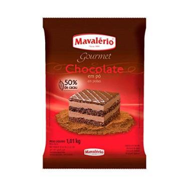 Chocolate Em Pó Para Bolo E Doce 1,01kg Gourmet 50% De Cacau