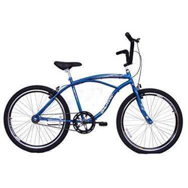 Imagem de Bicicleta Aro 26 Masculina Beach Sem Marcha Azul