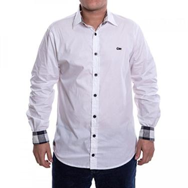 2710a902d8 Camisa Social Masculina Coca-Cola Manga Longa 031.32.00506