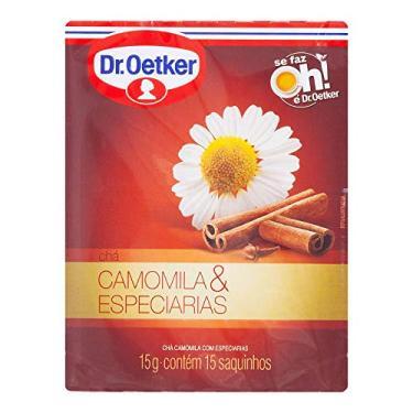 Chá Dr Oetker Camomila e Especiarias 15g