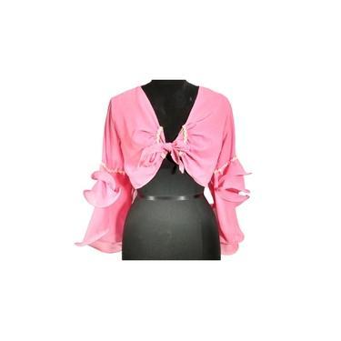 Blusa Bolero estilo Cigana