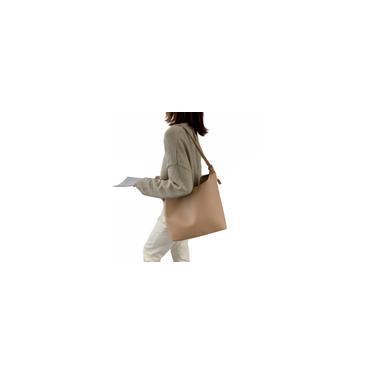 Saco simples ombro de grande capacidade (apenas saco grande) caqui